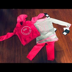 Toddler Girl Nike 3PC Outfit